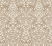 Seamless Lace Pattern, Vector Illustration Royalty Free Stock Photo