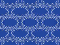 Seamless lace pattern. Vector illustration Royalty Free Stock Photography