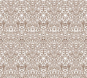 Seamless lace pattern, vector illustration Stock Images