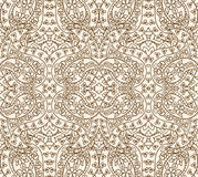 Seamless lace pattern, vector illustration Royalty Free Stock Photos