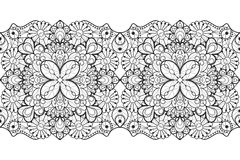 Seamless lace ribbon Royalty Free Stock Photo
