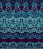 Seamless laced arabic pattern Royalty Free Stock Photography