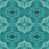 Seamless laced arabic pattern Stock Images