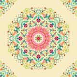 Seamless laced ornamental pattern Stock Images
