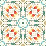 Seamless laced ornamental pattern Stock Photos
