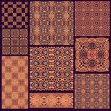 Seamless laced ornamental pattern Royalty Free Stock Image