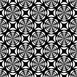 Seamless laced pattern. Stock Image