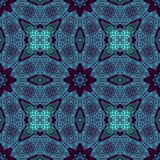 Seamless laced pattern Royalty Free Stock Image