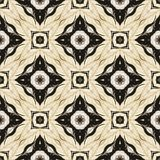 Seamless laced pattern in arabic style Stock Images