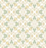 Seamless laced pattern in arabic style Royalty Free Stock Images