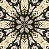 Seamless laced pattern in arabic style Stock Photos