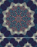 Seamless laced pattern Stock Images
