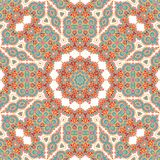Seamless laced pattern  in medieval style Royalty Free Stock Image