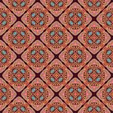 Seamless laced pattern  in medieval style Stock Photography