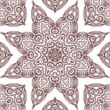 Seamless laced pattern  in medieval style Royalty Free Stock Photo