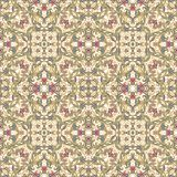 Seamless laced pattern  in medieval style Royalty Free Stock Photography