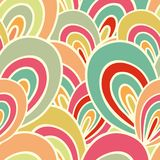 Seamless laced paisley  pattern Stock Photography