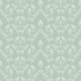 Seamless laced paisley  pattern with border Royalty Free Stock Images