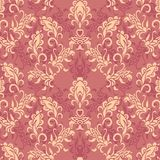 Seamless laced paisley  pattern Stock Photos