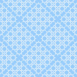 Seamless lacy checked pattern. Stock Photography