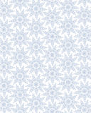Seamless lacy modell med snowflaken royaltyfri illustrationer