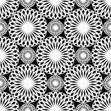Seamless lacy pattern. Royalty Free Stock Photography
