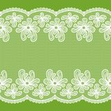 Seamless lacy stripe Royalty Free Stock Photos