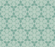Seamless Lacy Winter Pattern Stock Photo