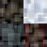 Seamless lattice pattern Stock Photography