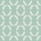 Seamless laurel pattern Royalty Free Stock Photo