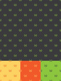 Seamless Laurel Pattern Stock Photography