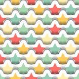 Seamless Layered Stars Background Royalty Free Stock Photo