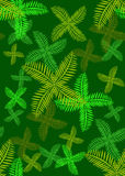 Seamless leaf design royalty free stock photo
