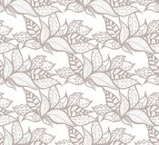 Seamless Leaf Pattern Stock Photos