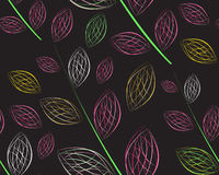 A seamless leaf pattern Stock Photo