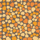 A seamless leaf pattern Royalty Free Stock Images
