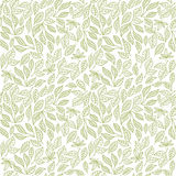 Seamless leaf pattern Royalty Free Stock Image