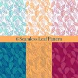 Seamless Leaf patterns vector illustration