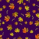 seamless leafmodell Royaltyfria Bilder