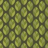 seamless leafmodell Arkivbilder