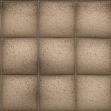 Seamless Leather Background Royalty Free Stock Images