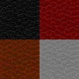 Seamless leather texture Stock Image