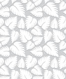 Seamless leaves background design Stock Photo