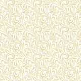 Seamless leaves background and pattern Royalty Free Stock Images
