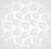 Seamless leaves background for wedding card Stock Photo
