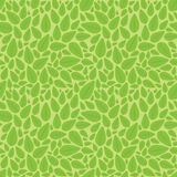 Seamless Leaves Nature Pattern Stock Photo