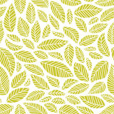 Seamless leaves pattern Royalty Free Stock Image