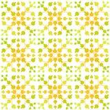 Seamless Leaves Pattern damask Stock Photo