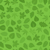 Seamless leaves pattern Royalty Free Stock Images
