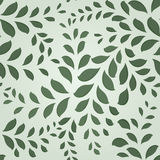 Seamless leaves pattern. Royalty Free Stock Photos